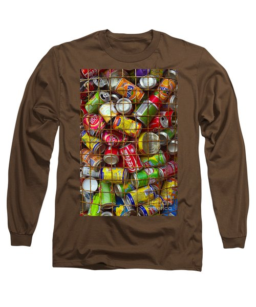 Recycling Cans Long Sleeve T-Shirt