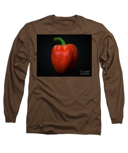 Red Bell Pepper Long Sleeve T-Shirt