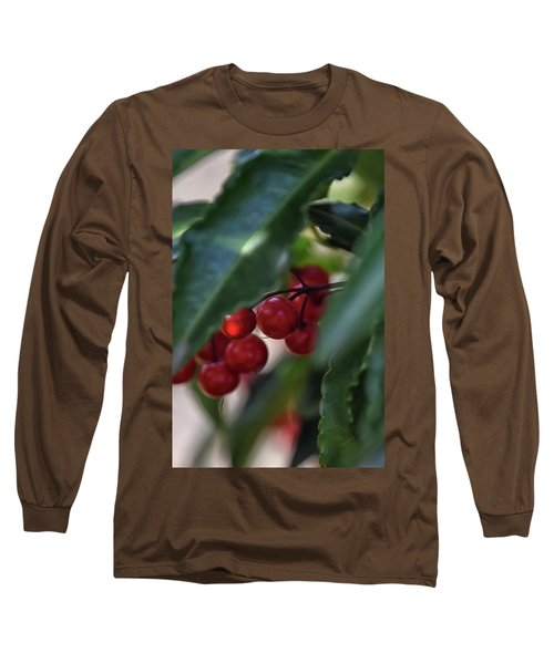 Red Berry Long Sleeve T-Shirt