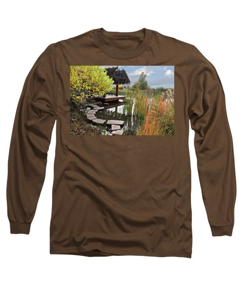 Red Butte Gardens Long Sleeve T-Shirt by Utah Images
