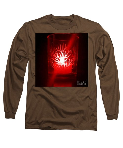 Red Candle Light Long Sleeve T-Shirt