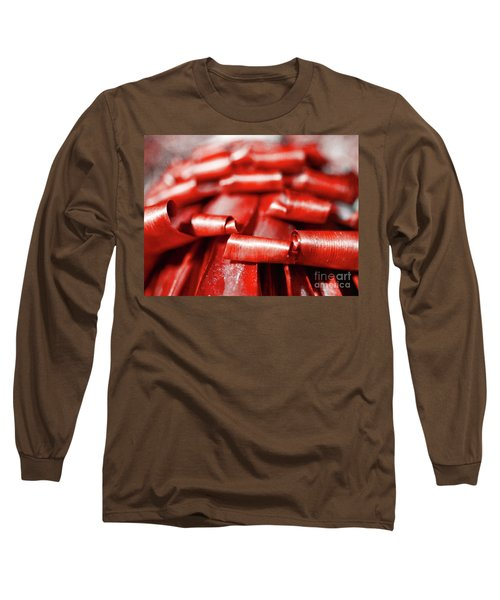 Red Curls Long Sleeve T-Shirt