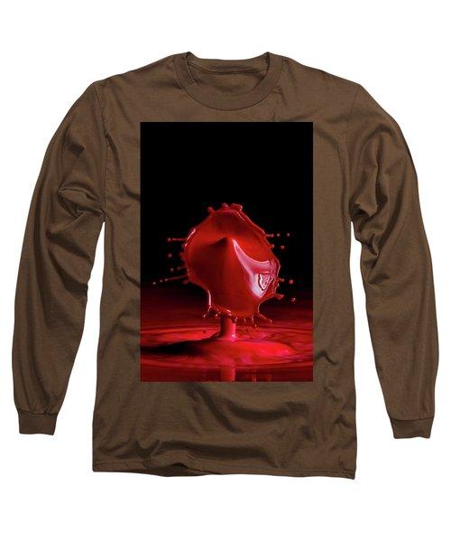 Red Drop Long Sleeve T-Shirt