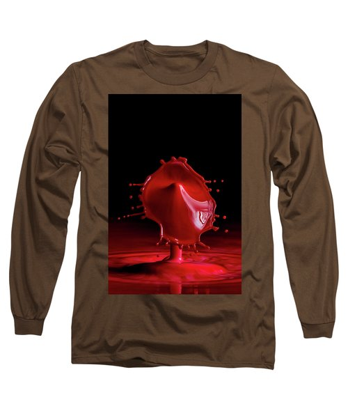 Red Drop Long Sleeve T-Shirt