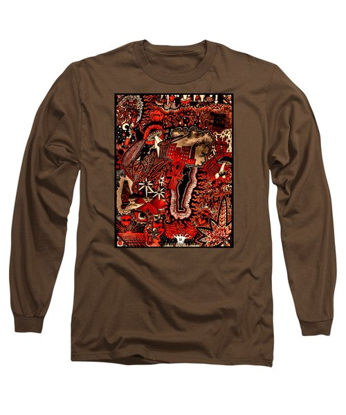 Red Existence Long Sleeve T-Shirt