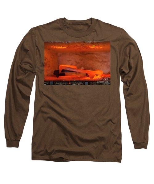 Red Hot Horseshoe Long Sleeve T-Shirt