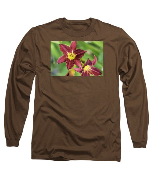 Red Lily 2 Long Sleeve T-Shirt