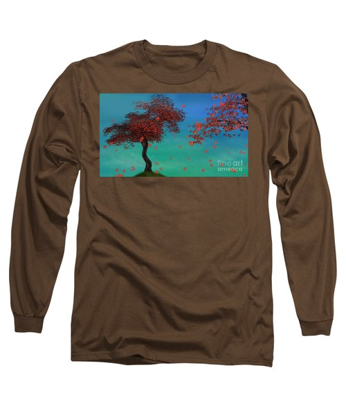 Red Maples Long Sleeve T-Shirt
