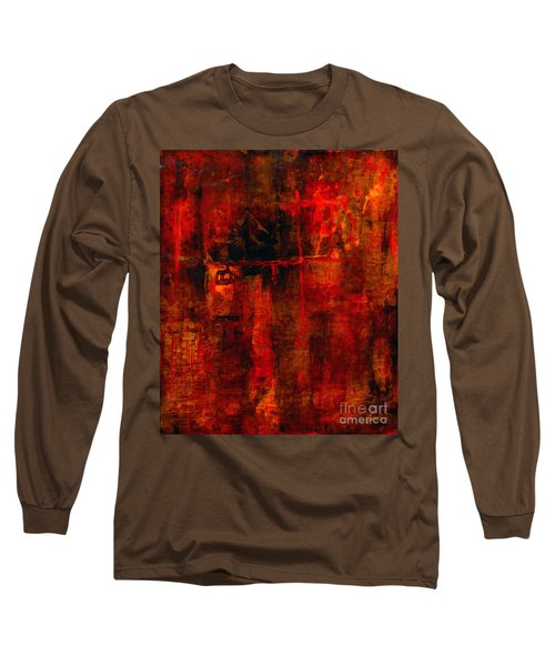 Red Odyssey Long Sleeve T-Shirt