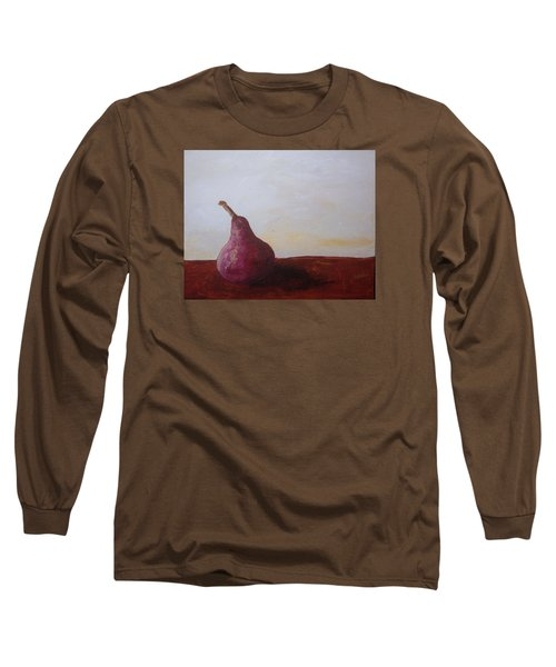 Red Pear Long Sleeve T-Shirt by Roxy Rich