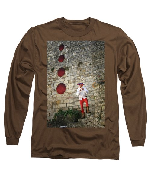 Red Piper Long Sleeve T-Shirt