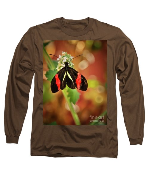 Long Sleeve T-Shirt featuring the photograph Red Postman by Robert Bales