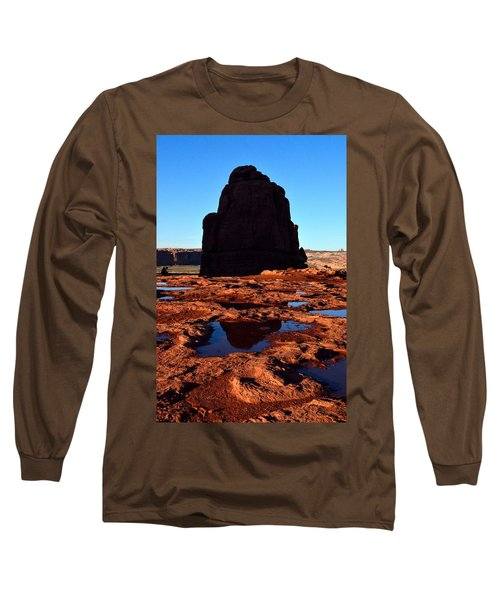 Red Rock Reflection At Sunset Long Sleeve T-Shirt