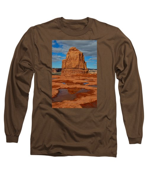Red Rock Reflection Long Sleeve T-Shirt