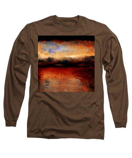 Red Skies At Night Long Sleeve T-Shirt