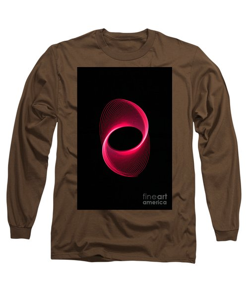 Red Spiral  Long Sleeve T-Shirt