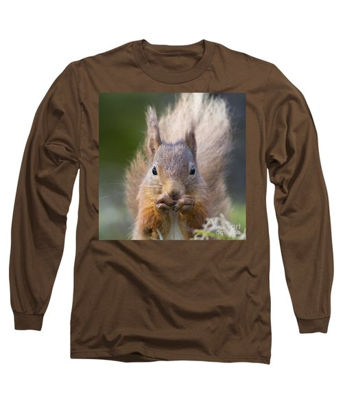 Red Squirrel - Scottish Highlands #28 Long Sleeve T-Shirt