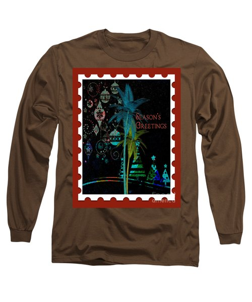 Red Stamp Long Sleeve T-Shirt