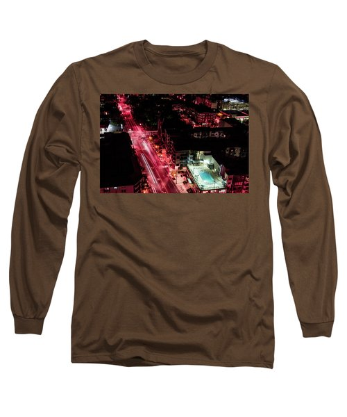 Red Streets Long Sleeve T-Shirt