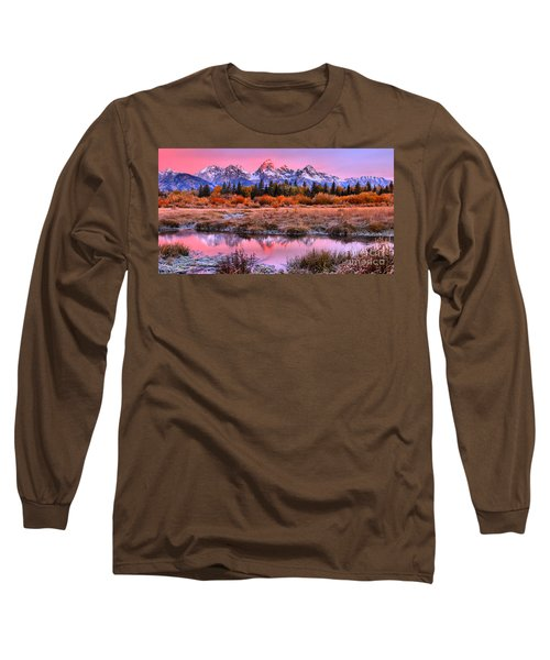 Red Tip On The Grand Long Sleeve T-Shirt