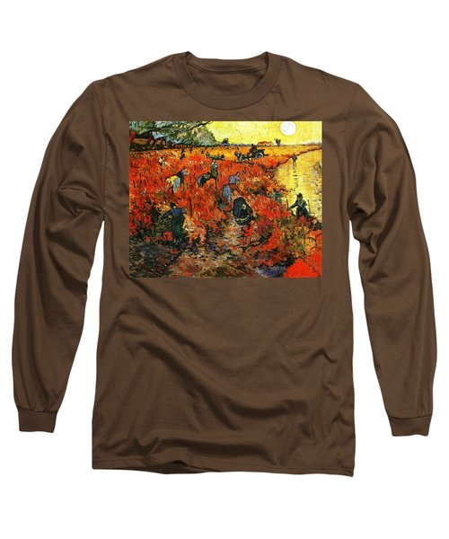Red Vineyard Long Sleeve T-Shirt