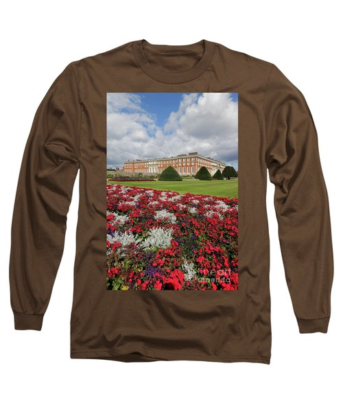 Red White And Blue At Hampton Court Long Sleeve T-Shirt