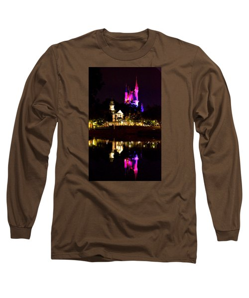 Reflecting Dreams Long Sleeve T-Shirt by William Bartholomew