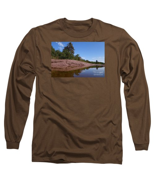 Long Sleeve T-Shirt featuring the photograph Reflecting On Change by Sandra Updyke
