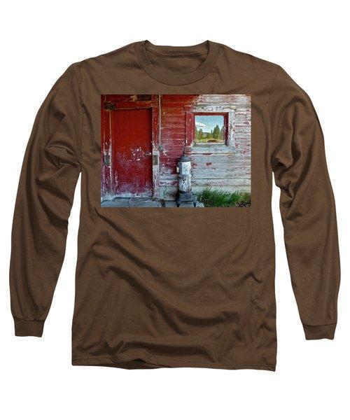 Reflecting The Landscape Long Sleeve T-Shirt