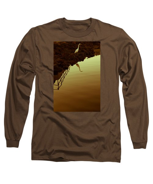 Elegant Bird Long Sleeve T-Shirt