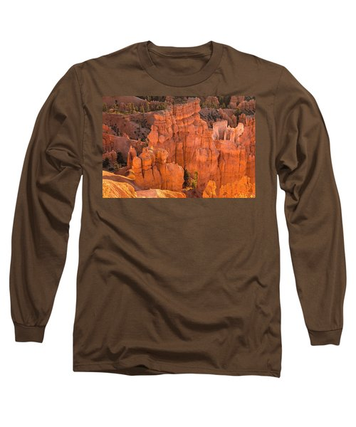 Reflections Of Morning Light Long Sleeve T-Shirt by Angelo Marcialis