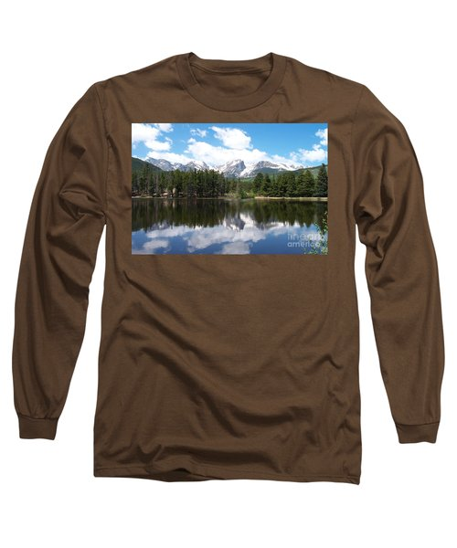 Reflections Of Sprague Lake Long Sleeve T-Shirt