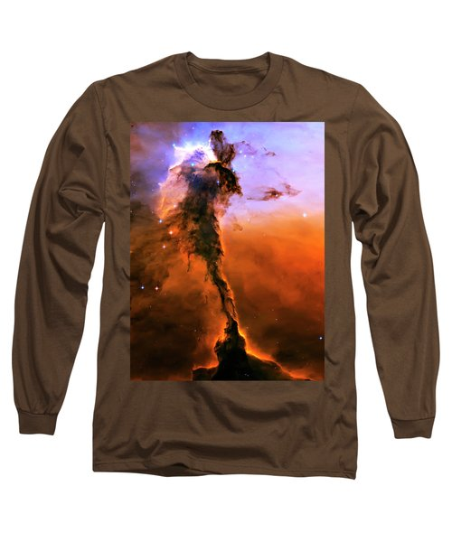 Release - Eagle Nebula 2 Long Sleeve T-Shirt by Jennifer Rondinelli Reilly - Fine Art Photography