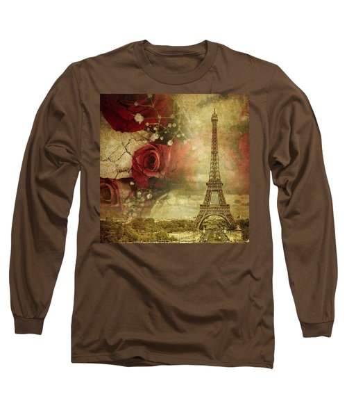 Remembering Paris Long Sleeve T-Shirt
