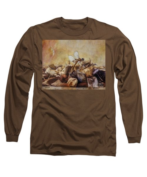 Respite Of The Mosquito Hawk Long Sleeve T-Shirt