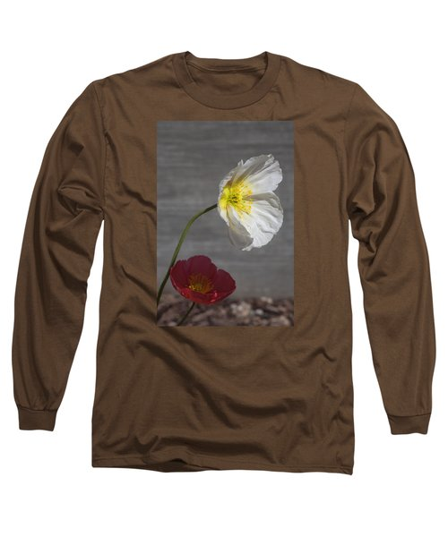 Resting In Your Shade Long Sleeve T-Shirt by Morris  McClung