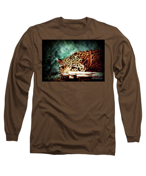 Resting Jaguar Long Sleeve T-Shirt