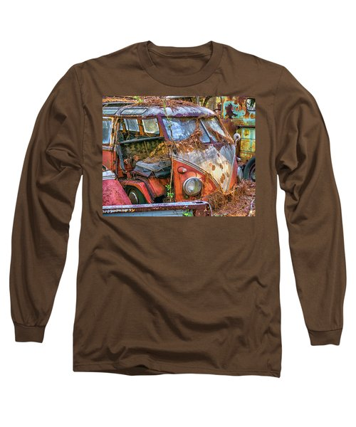 Retired Vw Bus Long Sleeve T-Shirt