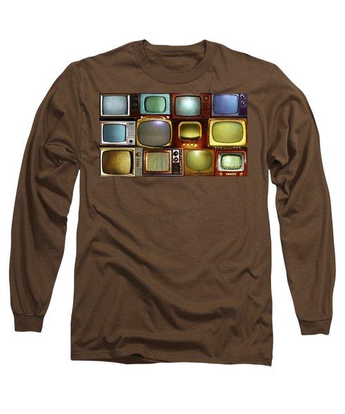 Retro Television Marathon 20150928long V2 Long Sleeve T-Shirt