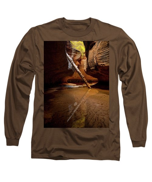 Long Sleeve T-Shirt featuring the photograph Reunion by Dustin LeFevre