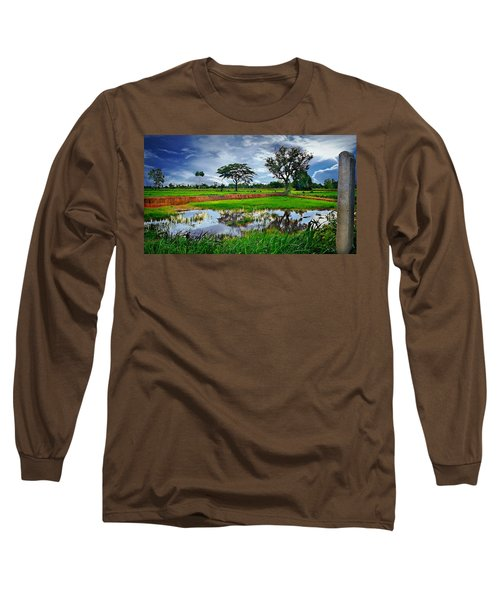 Rice Paddy View Long Sleeve T-Shirt