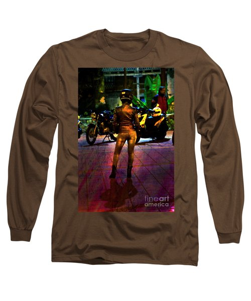 Long Sleeve T-Shirt featuring the photograph Riding Companion II by Al Bourassa