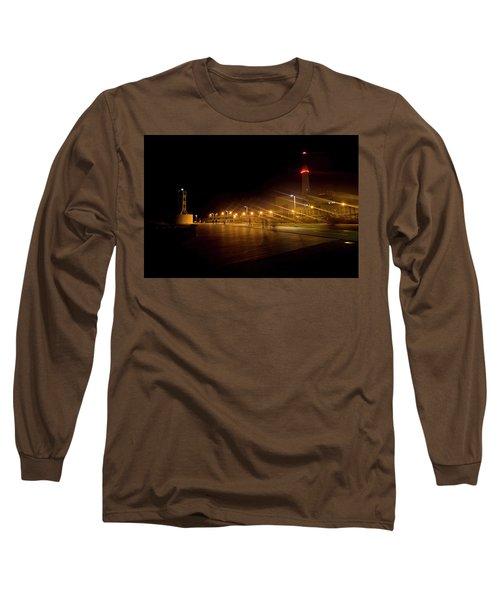Long Sleeve T-Shirt featuring the photograph Riding Station, Tel Aviv by Dubi Roman