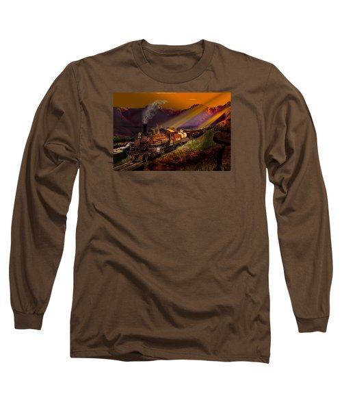 Rio Grande Early Morning Gold Long Sleeve T-Shirt by J Griff Griffin