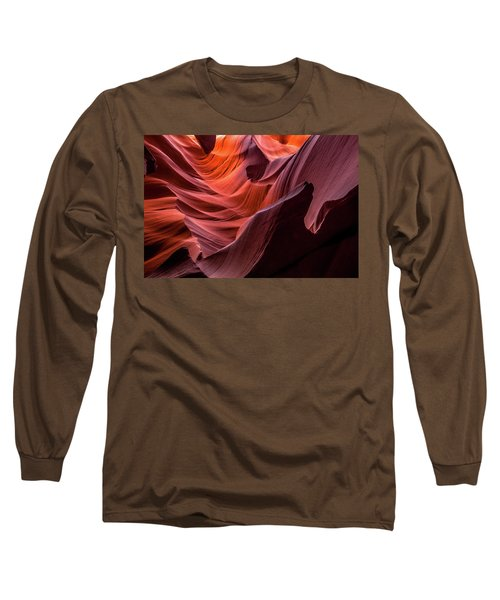 Ripple Of Color Long Sleeve T-Shirt