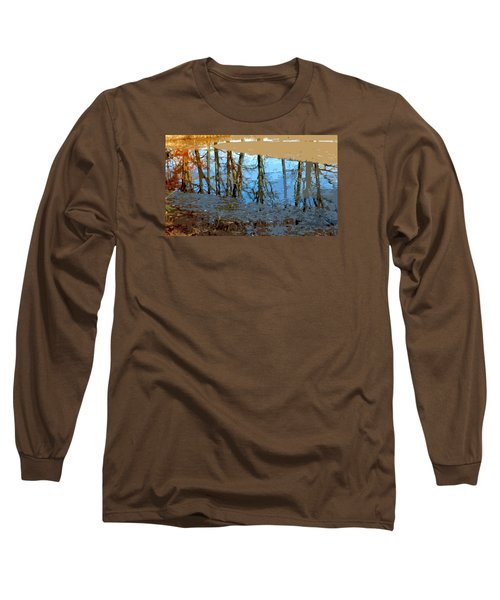 Long Sleeve T-Shirt featuring the photograph Ripples by Spyder Webb