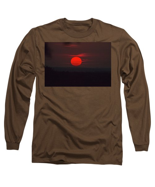 Rising Sun In Texas Long Sleeve T-Shirt