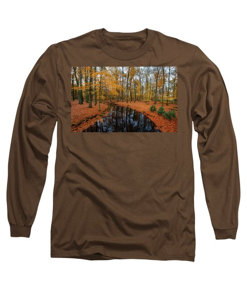 River Through Autumn Long Sleeve T-Shirt