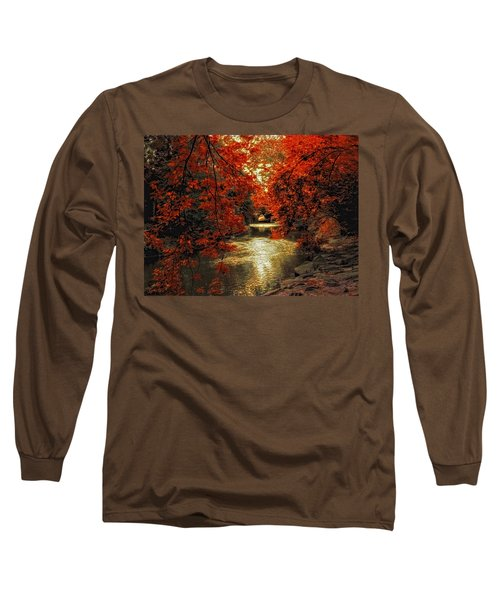 Riverbank Red Long Sleeve T-Shirt