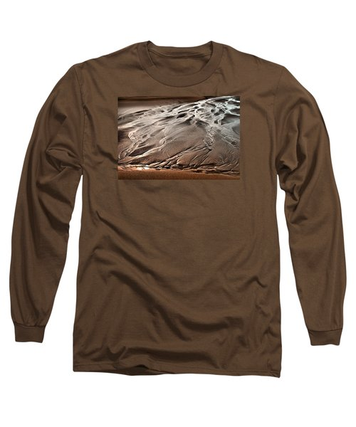 Long Sleeve T-Shirt featuring the photograph Rivers Of Time by Laura Ragland